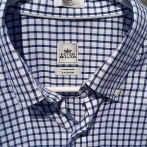 Peter Millar long sleeve button down size large